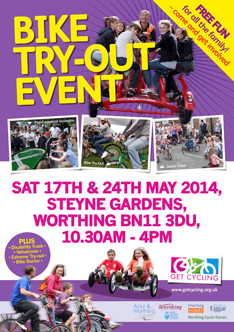 Get Cycling Roadshow poster